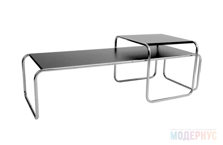 дизайнерский стол Laccio Table дизайн от Marcel Breuer
