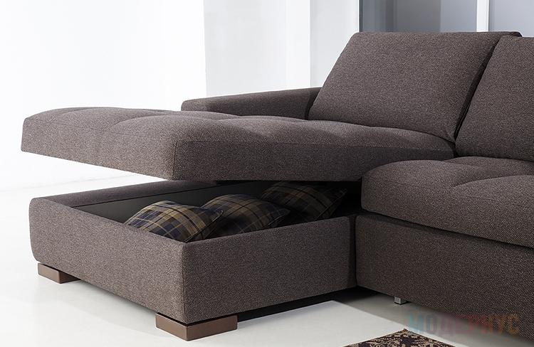 Диван Леман от фабрики Saiwala – купить по цене от 118894 ...: http://modernus.ru/furniture/divans/leman