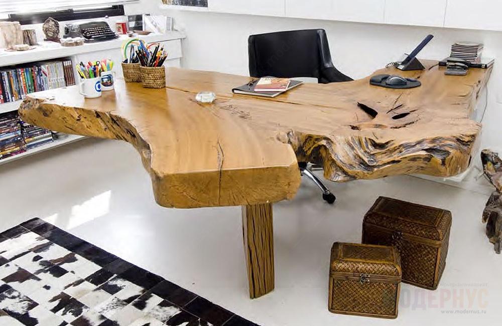 воздействие необычные столы из дерева фото кто задумал