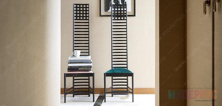 Дизайнерский стул Hill House от Ренни Макинтоша