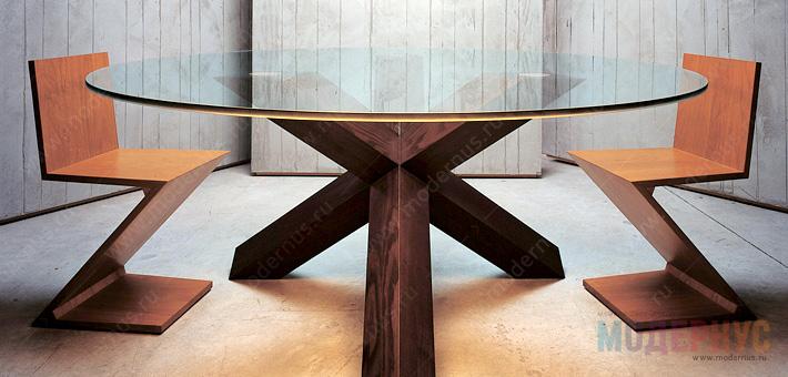 Дизайнерский стул ZigZag от Геррит Томас Ритвельд