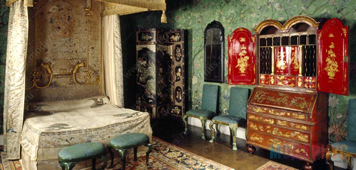 Интерьер спальни в стилистике Китайщина